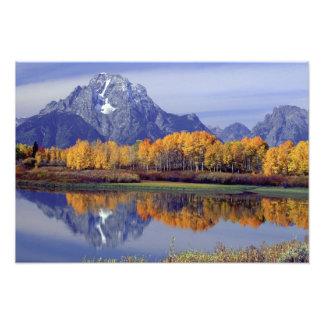 Los E E U U Wyoming parque nacional magnífico d Fotografias