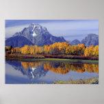Los E.E.U.U., Wyoming, parque nacional magnífico d Póster