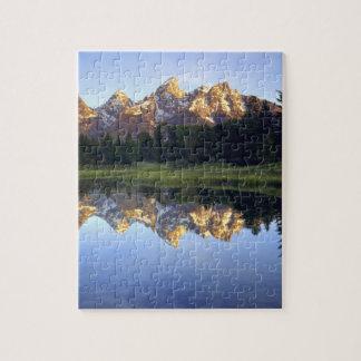 Los E.E.U.U., Wyoming, parque nacional magnífico d Rompecabeza Con Fotos