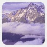 Los E.E.U.U., Wyoming, parque nacional magnífico Pegatina Cuadrada