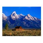 Los E.E.U.U., Wyoming, parque nacional magnífico Postal