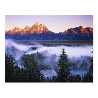 Los E.E.U.U., Wyoming, parque nacional magnífico Postales