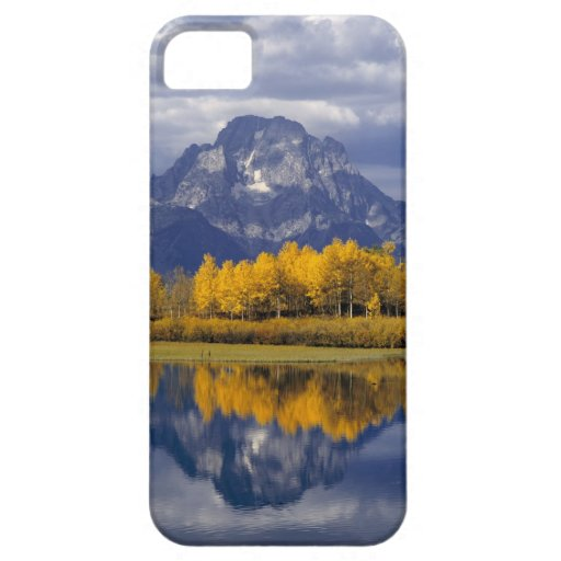 Los E.E.U.U., Wyoming, Teton magnífico NP. Contra iPhone 5 Case-Mate Cárcasas