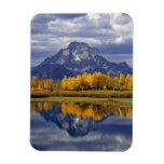 Los E.E.U.U., Wyoming, Teton magnífico NP. Contra Imán De Vinilo