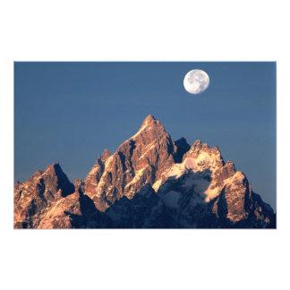 Los E.E.U.U., Wyoming, Teton magnífico NP. Sistema Foto