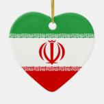 Los E.E.U.U. y ornamento del corazón de la bandera Adorno