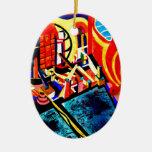 Los E.E.U.U. y pesadilla japonesa del paisaje Ornamentos Para Reyes Magos