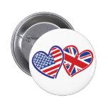 Los E.E.U.U. y Reino Unido en los corazones que mu Pin