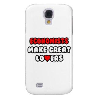 Los economistas hacen a grandes amantes