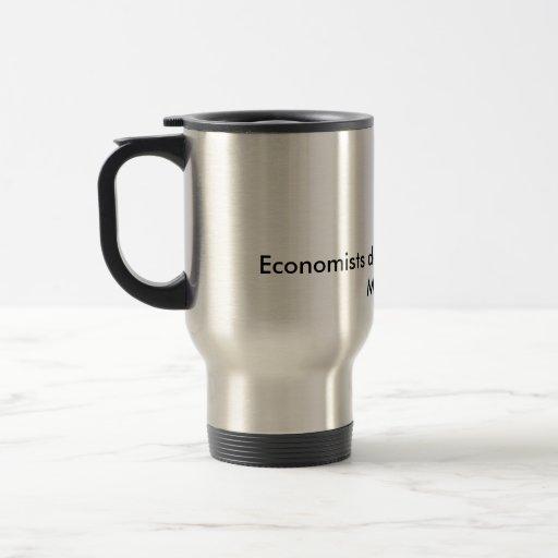 Los economistas hacen todo con los modelos taza de viaje de acero inoxidable