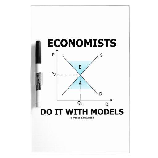Los economistas lo hacen con los modelos (la curva pizarras blancas de calidad