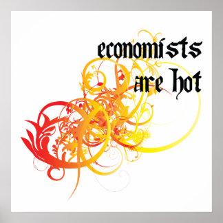 Los economistas son calientes posters