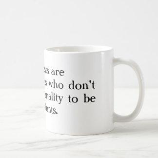 Los economistas son los matemáticos que no tienen  tazas de café
