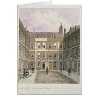Los edificios de Bartlett, Holborn, 1838 Tarjeta De Felicitación