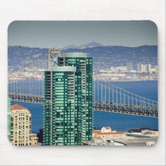 Los edificios de la playa del sur de San Francisco Alfombrillas De Raton