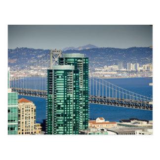 Los edificios de la playa del sur de San Francisco Postal