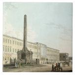Los edificios de los escritores, Calcutta, platean Azulejo Cuadrado Grande