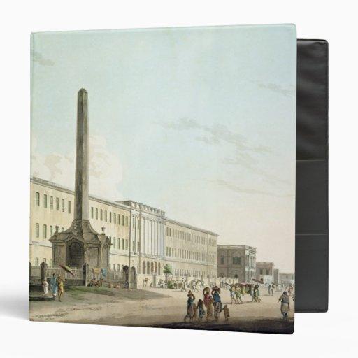 """Los edificios de los escritores, Calcutta, platean Carpeta 1 1/2"""""""