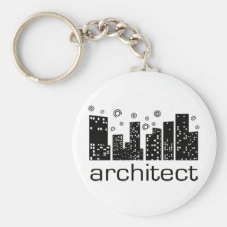 ¡Los edificios del arquitecto refrescan diseño! Llaveros