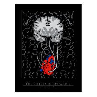 Los efectos de la dopamina - postal