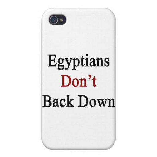 Los egipcios no retroceden iPhone 4 cárcasas
