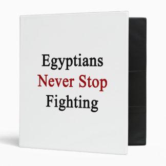 Los egipcios nunca paran el luchar