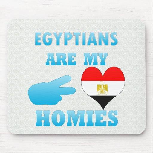 Los egipcios son mi Homies Alfombrilla De Raton