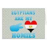 Los egipcios son mi Homies Felicitación