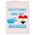 Los egipcios son mi Homies Tarjeta