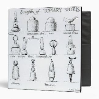 """Los ejemplos del Topiary trabajan, 1902 (el Carpeta 1 1/2"""""""