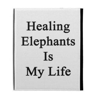 Los elefantes curativos son mi vida