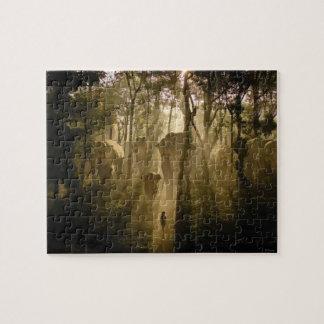 Los elefantes del libro de la selva rompecabezas