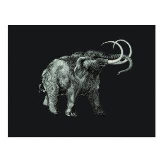 Los elefantes gigantescos, principales a partir tarjeta postal