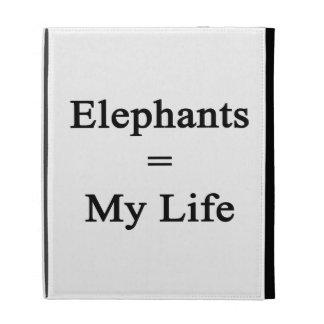 Los elefantes igualan mi vida