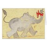 Los elefantes nunca olvidan felicitaciones