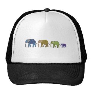 Los elefantes nunca olvidan gorras