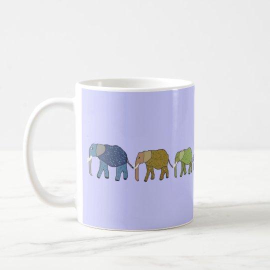 Los elefantes nunca olvidan las tazas