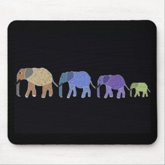 Los elefantes nunca olvidan tapete de ratones