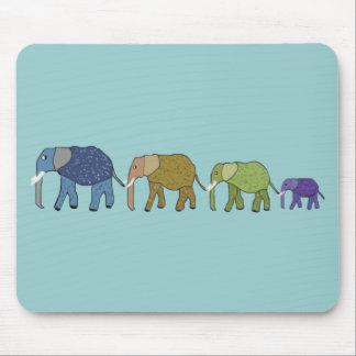 Los elefantes nunca olvidan tapetes de raton