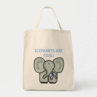 Los elefantes son camisetas y regalos frescos bolsas lienzo