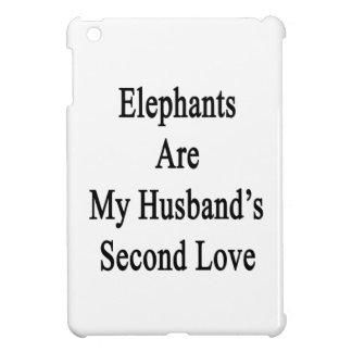 Los elefantes son el amor de mi marido en segundo