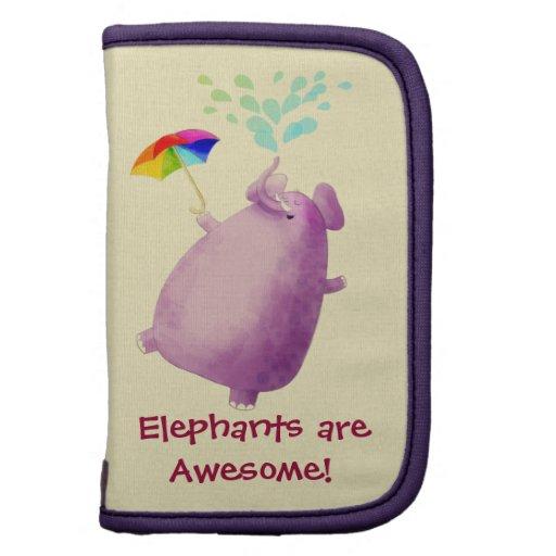 Los elefantes son impresionantes organizadores