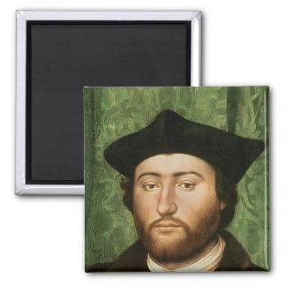 Los embajadores, 1533 imán cuadrado