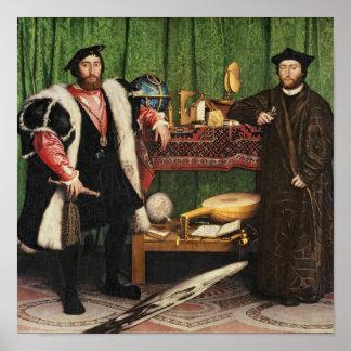 Los embajadores, 1533 impresiones