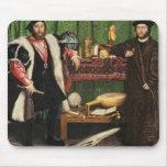 Los embajadores, 1533 tapete de ratones