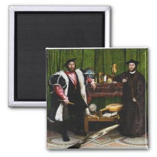 Los embajadores de Hans Holbein el más joven Imán Cuadrado