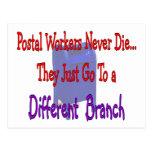 Los empleados de correos nunca mueren postal