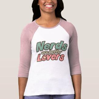 Los empollones son mejores amantes camisetas