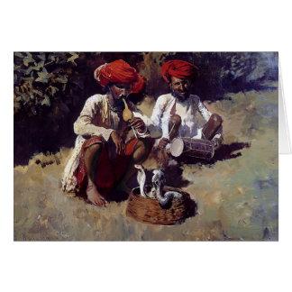Los encantadores de serpiente Bombay de señor Wee Tarjeton