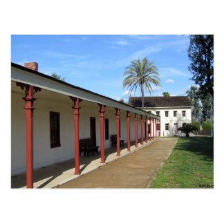 Los Encinos Historic California Adobe Postcard